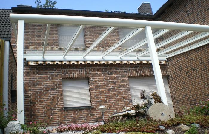 Terrassendach Premium mit VSG