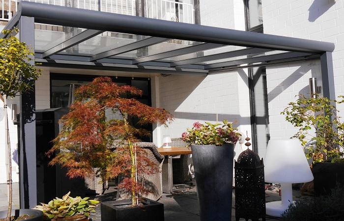 Terrassendach RAL7016