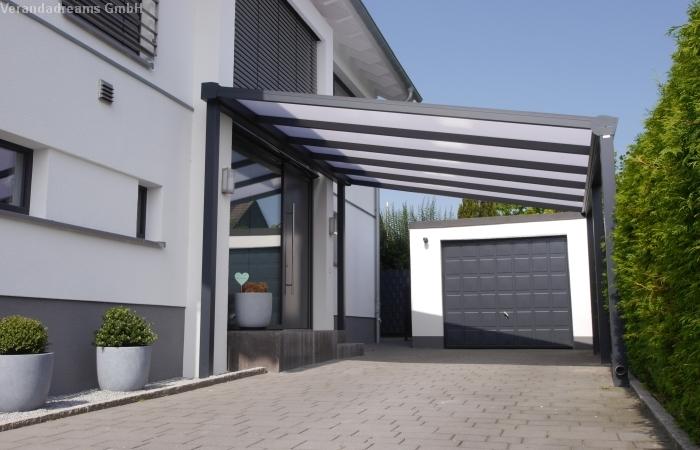 Carport aus Aluminium Verandadreams GmbH